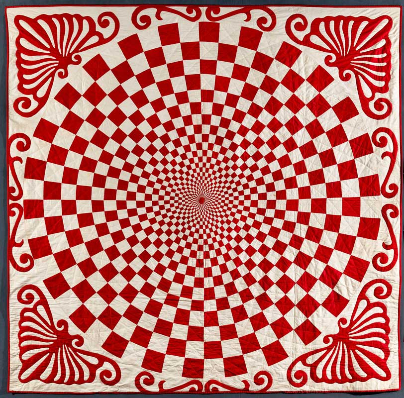 Infinite Variety: Three Centuries of Red and White Quilts ... : red white quilt - Adamdwight.com