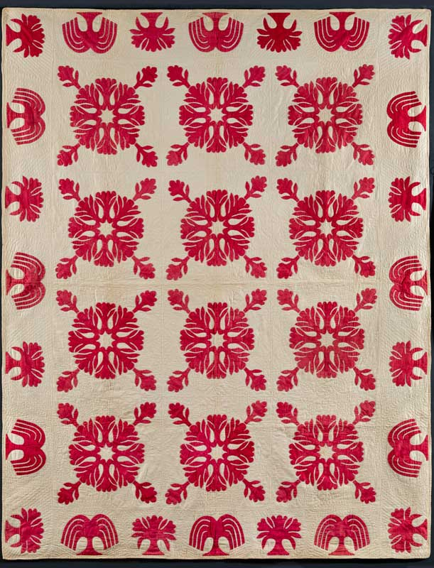 Infinite Variety Three Centuries Of Red And White Quilts