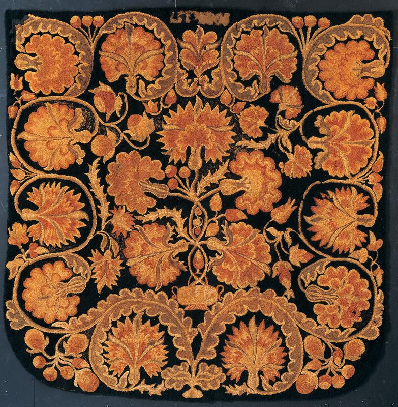 Bed Rug Attributed To Deborah Leland Fairbanks (1739u20131791) And Unidentified  Family Member. Littleton, New Hampshire 1803. Wool 101 X 96 In. American  Folk ...