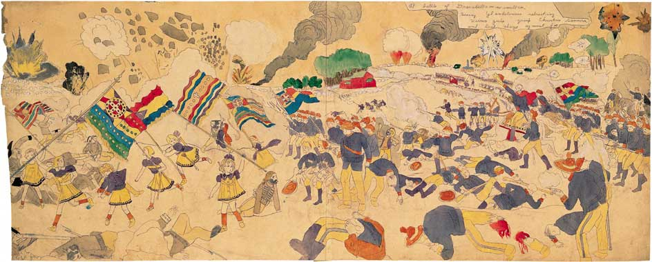 Dargerism: Contemporary Artists and Henry Darger | American Folk Art ...