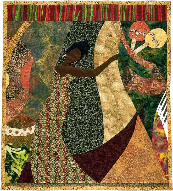 Textural Rhythms: Constructing the Jazz Tradition—Contemporary ... : african american quilts - Adamdwight.com