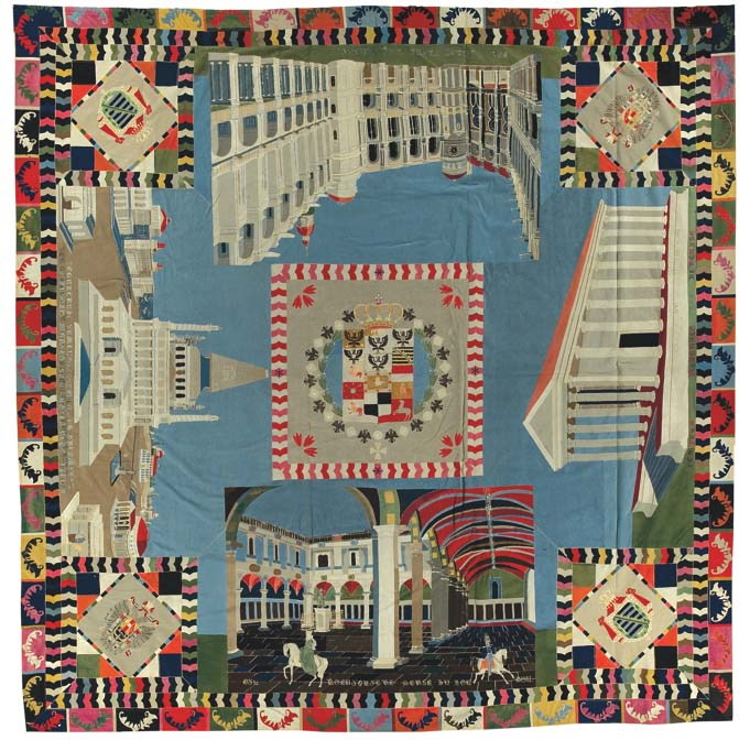 War and pieced the annette gero collection of quilts from for Craft and folk art museum