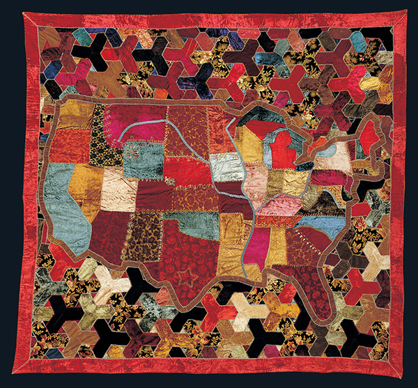 Handstitched Worlds: The Cartography of Quilts   American Folk Art ...